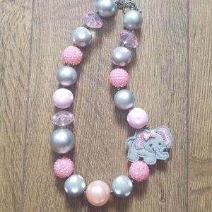 Elephant Buublegum Necklace